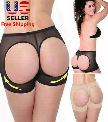 NEW BUTT LIFTER BOY SHORT BOOTY LIFT BOOSTER TUMMY CONTROL PANTY SHAPEWEAR Clothing, Shoes & Accessories