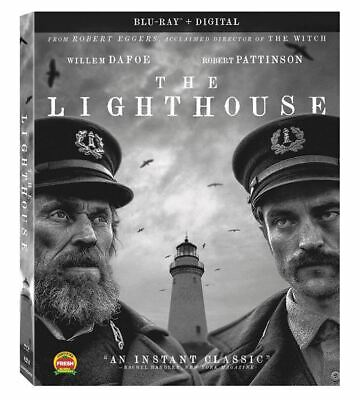 The Lighthouse Blu-ray Digital 2020 Willem Dafoe Robert Pattinson Horror