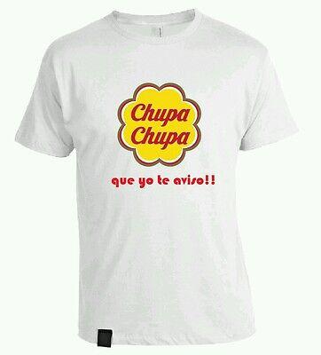 t-shirt Baumwolle personalisiert Chupa chupa dass yo te Beachten Sie 180g