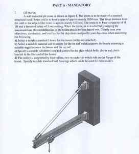 PEO Mec-B1 2012-05 Question 1 SOLUTION Wanted Kitchener / Waterloo Kitchener Area image 1