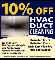 Duct Cleaning Services (April Discounted Offer)