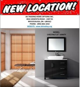 Spring Sale on A Variety of Vanities & Countertops At AK Trading