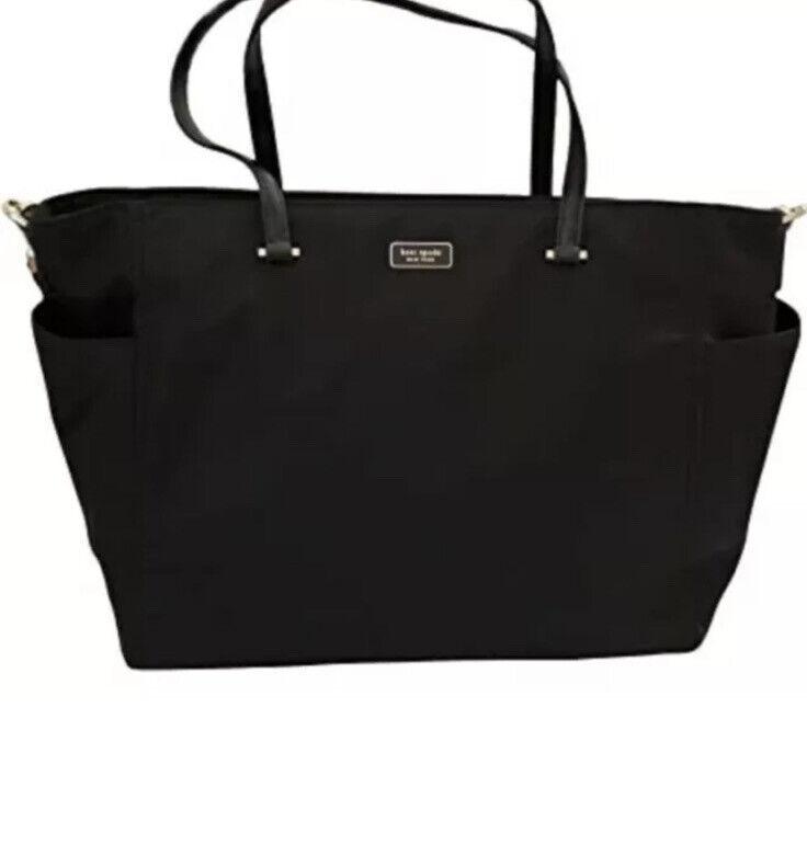 Kate Spade Dawn Black Diaper Bag - New With Tags (WKRU5915)