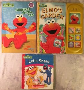 Vintage The Sesame Street Library Vol. 5 Children's Book W Jim Henson's Muppets