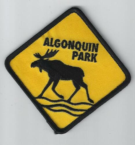 Algonquin Park Ontario Souvenir Moose Patch