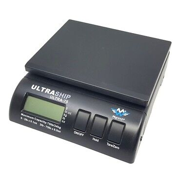 My Weigh Ultraship Digital Postal Shipping Scale Ultra 75 With Power Adapter