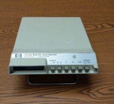 Hewlett Packard Digital Multimeter 3476a - Used