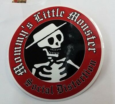 SOCIAL DISTORTION STICKER NEW 2009 VINTAGE OOP RARE COLLECTIBLE LITTLE MONSTER