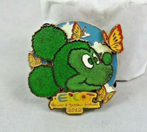Walt Disney World Pin - Epcot Flower and Garden Festival 2012 Logo Mickey Mouse