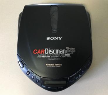 Sony Discman Boxed Unused D-M805