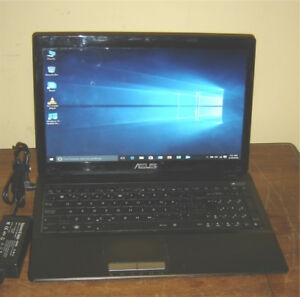 "ASUS K53TK 15.6"" AMD A6 Quad Core 750GB 4GB HDMI USB 3"