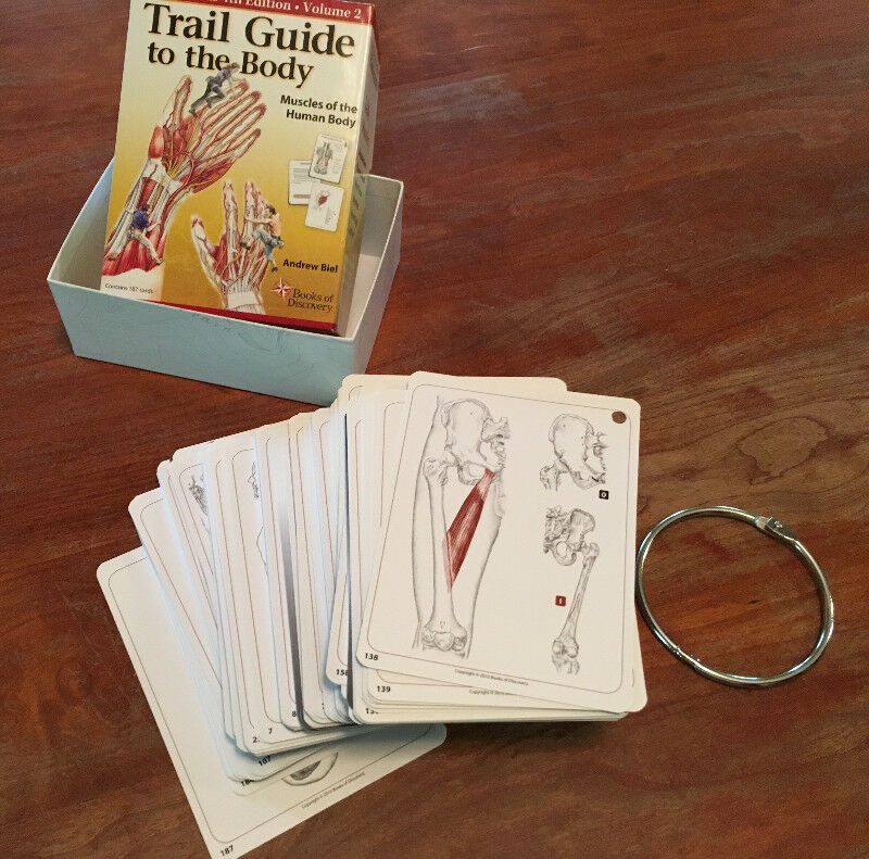 trail guide to the body flashcards vol 2 4th edition