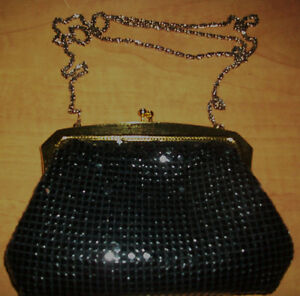 Evening black purse