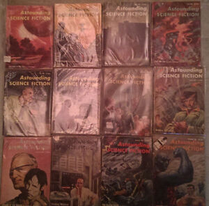 Astounding Science Fiction; Complete Year Set 1957 (12 issues)