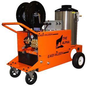 Industrial Hot Water Electric - Oil Fired