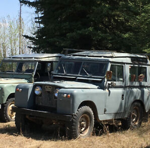 1959 Land Rover Series2 SWB station wagon / land cruiser