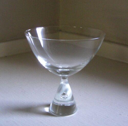 """Holmegaard Crystal Princess Liquor/Cocktail Glass(es) Stem(s) 3 7/8"""""""