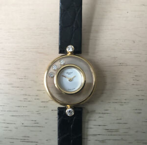 Chopard Happy Diamonds 18K Yellow Gold Watch 20/3929