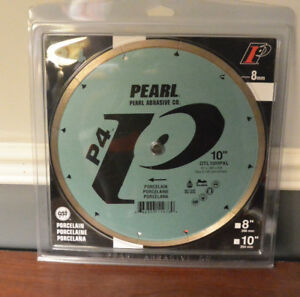 "Brand New 10"" Pearl Wet Tile Saw Blade"