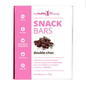 Healthy Mummy Snack Bars- Double Choc