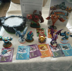 wii skylander giants starter figures lot, $55, obo negotiable