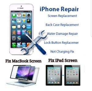 iPhone Screen Repair Starts $39 +Warranty + Free Case