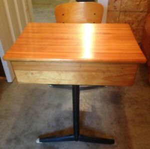 Child's Vintage School Desk