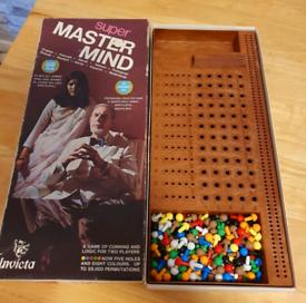 Orginal 1972 Super Mastermind Game