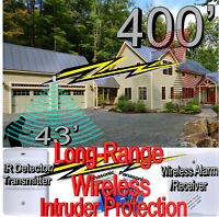 Long-Range Wireless Intruder Protection