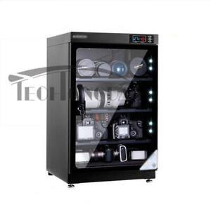 80L Dehumidify Dry Cabinet Box Full Automatic Digital Camera Dehumidify Storage 154022