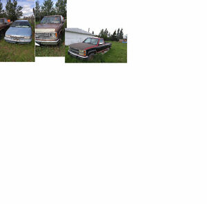 93 Caprice, 89 Chev 3/4, 91 Pick Ups For Restoration or Parts
