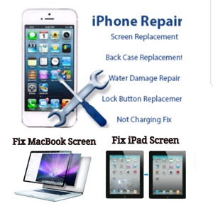 iPhone  / iPad Battery  & Screen Replacement Starts $49