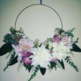 Door wreath or home decor