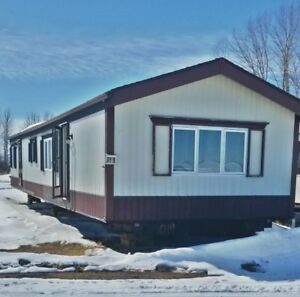 16x60 2 bed 1.5 bath Mobile Home - Delivery Included in Alberta