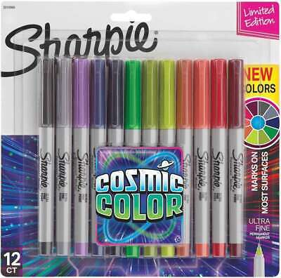 Sharpie Cosmic Color Ultra Fine Point Markers 12pkg  071641128620