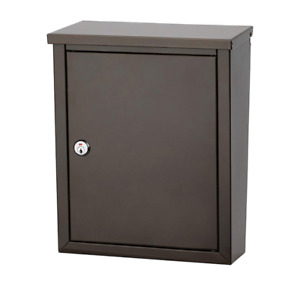 Architectural Mailboxes' 2580Z-10 Chelsea Locking Wall Mount Mai