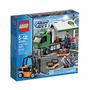 LEGO City 60020   Airport Cargo Truck  321pcs  (new)