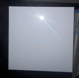 BRAND NEW 6x24 WHITE HIGH GLOSS WHITE WALL CERAMIC TILES