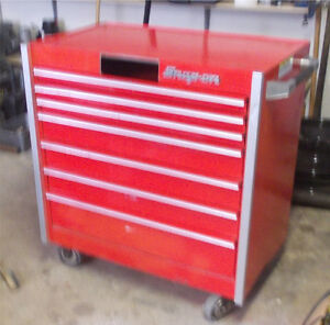 SNAP-ON 7 DRAWER ROLLING TOOL CABINET