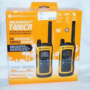 Motorola Talkabout T400CR Two-Way Radios