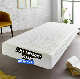⚡ FLASH ⓈⒶⓁⒺ on Brand New Memory Foam Mattress ⚡ Free Delivery