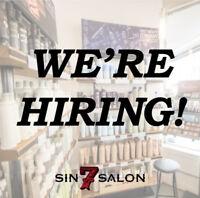 SIN 7 SALON - We're hiring a Salon Coordinator!