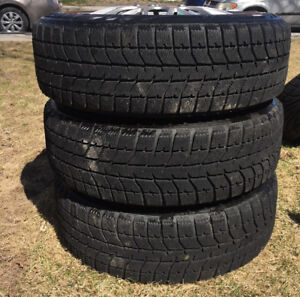 195 65 15 Bridgestone Blizzak Winter Tires