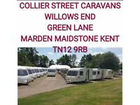 2 , 4, 5, 6 BERTH CARAVANS WITH WARRANTY @ COLLIER STREET CARAVANS
