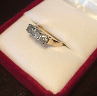 Past, Present, Future 1 carat Diamond Ring