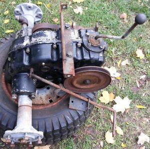Peerless 3 Speed Hi-Low Range Trans-Axle