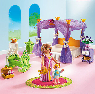 PLAYMOBIL® 6851 Princess Chamber with Cradle - NEW 2016 - S&H FREE WORLDWIDE