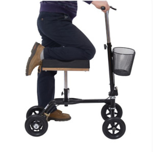 HOMCOM Knee Scooter Foldable Medical New