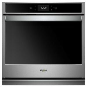 "Whirlpool WOS72EC0HS 30"" Smart Single Wall Oven with True Convec"
