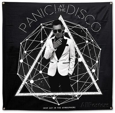 Panic! At The Disco- Photo Galaxy Flag Fabric Poster Print, 48x48